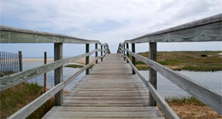 Ridgevale Beach Boardwalk